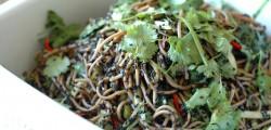 organic soba noodle salad