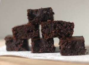 low fat bean brownies