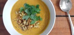 organic pumpkin soup