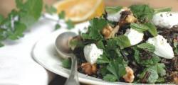 organic wild rice salad