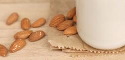 organic homemade almond milk