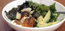 organic pumpkin egg avocado bowl