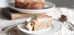 organic pear cake