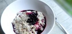 whole oat porridge